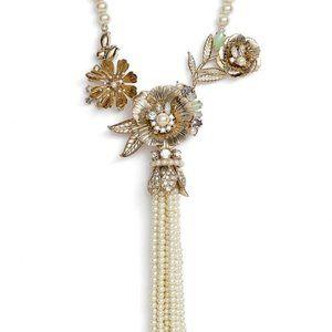 Marchesa Pearl Tassel Necklace